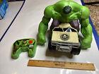 Jakks 2015 Incredible Hulk Remote Control Smash Car Marvel Avengers  87374RX