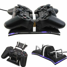 New Dual USB Charging Station Dock For PS3 Wireless Controller Gamepad  G2qw