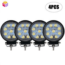 4X 4'' 5inch Led Work Light Bar Cube Pods Combo SUV Lamp Offroad ATV Pickup 4X4