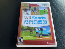 Wii Sports Nintendo Wii with Case, Complete with All Inserts - Tested!