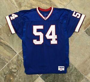 Vintage Buffalo Bills Chris Spielman Wilson Authentic Football Jersey, Size 52,