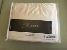 HollyHome Silky Soft Luxury 4 Piece Deep Pocket Full Satin Sheet Set, Beige