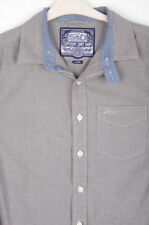 Superdry No Pattern Long Sleeve Collared Men's Casual Shirts & Tops