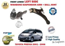 FOR TOYOTA PREVIA 2000-06  FRONT LOWER LEFT SUSPENSION WISHBONE ARM + BALL JOINT