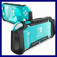 Grip Case For Nintendo Switch Lite Blade Series TPU Protective Portable Cover Ac