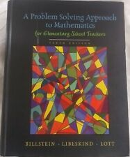 New ListingA Problem Solving Approach To Mathematics For Elementary School Teachers