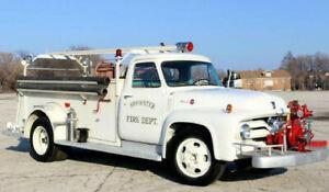 Ford F 500,     F100, F150, F350,  Fire Truck, Feuerwehr .  NUR 2000KM!!!!!!!