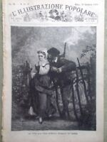 L'illustrazione Popolare 30 Settembre 1883 Cantù Brivio Fata Morgana Elettricità