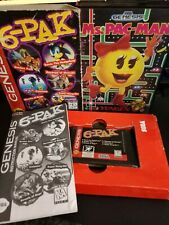 6-Pak Sonic Streets of Rage Shinobi & Ms. Pac-Man Sega Genesis games Tengen