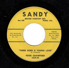 SOUTHERN DOO-WOP MONSTER-PETER CRAWFORD-SANDY-1039-THERE GOES A YOUNG LOVE
