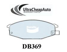 BRAKE PADS FRONT DISC- NISSAN 280ZX, 1982-1983, COUPE, BENDIX #DB369