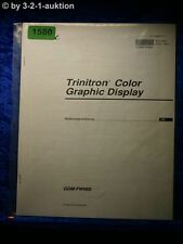 Sony Operating Instructions GDM fw900 graphic display (#1580)