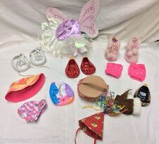 Build A Bear Shoes,Fairy Outfit,Picnic,Sun Hat & Birthday Hat