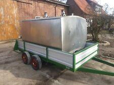 Milchtank Wasserwagen Anhänger