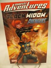 MARVEL ADVENTURES BLACK WIDOW & THE AVENGERS Digest $9.99srp Nova NEW Near Mint