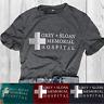 Womens Anatomy Tops Grey's Blouse Cross Sloan Memorial Hospital T-Shirts Shirts