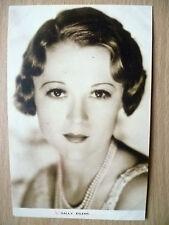 Film Actresses Postcard- SALLY EILERS ''No.2, Film Weekly, London''