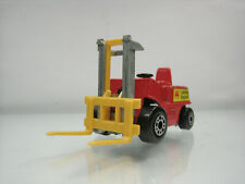 Diecast Matchbox Superfast Fork Lift No.15 Red Good Condition