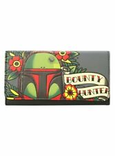 Faux Leather Cartoons & Characters Wallets for Women