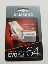 Samsung Evo Plus 64GB UHS-I Card with SD Adapter