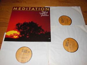 MEDITATION - MUSIK ZUM TRÄUMEN (DMM) / 3-LP-SET 1989 MINT-
