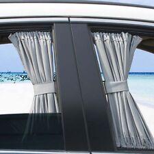 2pcs 70cm Mesh Car Window Curtain Valance UV Sunshade Drape Visor