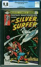 Fantasy Masterpieces #4 CGC 9.8 Marvel 1980 Silver Surfer vs Thor Cover! L10 cm