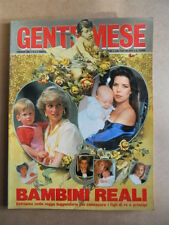GENTE MESE n°2 1989 Numero Speciale I Bambini Reali Carolina Lady Diana [G592]