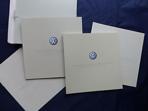 VW Phaeton MJ 2002 Box mit 4 Prospekten - Prospekt Brochure 01.2002
