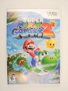 *No Game Or Manual* Super Mario Galaxy 2 Genuine Nintendo Wii Case
