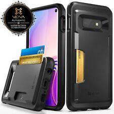 Para Samsung Galaxy S10e billetera tarjeta caso cubierta suave Ranura Soporte Delgado a prueba de choques