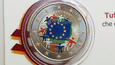 2 euro 2015 Olanda farbe color Paesi Bassi Pays Bas Netherlands 30 bandiera flag