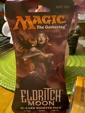 MTG New Eldritch Moon 15 Card Booster Pack in Protective Cardboard Package