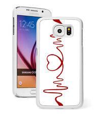 For Samsung Galaxy S9 S8 S7 S6 Edge + Note Active Hard Case 149 Heart EKG Nurse