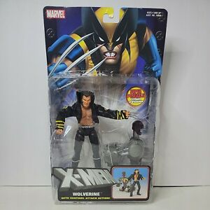 ToyBiz Marvel New X-Men Classics Super Poseable WOLVERINE Sentinel Attack Action