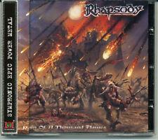 "Rhapsody ""Rain Of A Thousand Flames"" 2001, CD jewel case +OBI"