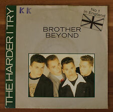 """Single 7"""" Vinyl The Harder i Try Brother Beyond"""