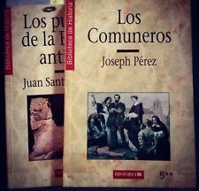 """2 Libros: """"Los Comuneros"""" Y """"Los Pueblos De La España Antigua"""" (1997)"""