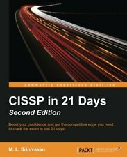 CISSP in 21 Days, Second Edition. Srinivasan, M.L 9781785884498 Free Shipping.#