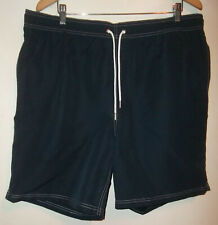 NEW WITHOUT TAGS MENS LANDS END SWIM SHORTS TRUNKS SIZE XL 40 - 42 NAVY