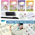 4 Book Magic Calligraphy That Can Be Reused Handwriting Copybook Set for Kid