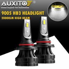 2XAUXITO 9005 HB3 LED Headlight High Beam Bulb White for GMC Sierra 2500 HD 1500