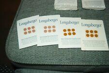 Longaberger Felt Pads, per sheet with 6 pads
