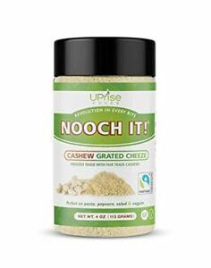 NOOCH IT! Fair Trade Dairy-Free Cashew Grated Cheeze   Vegan Parmesan ● Tasty Ch