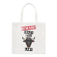 Méfiez-vous fou Bull femmes PETIT SAC FOURRE-TOUT - Drôle Animal épaule