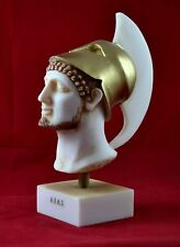 Ajax The Great bust , Hero Iliad Aged Patina Statue Free Shipping - Tracking
