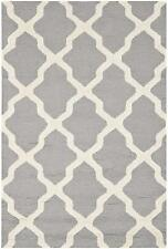 Safavieh Cambridge Hand-Tufted/Hand-Hooked, Grey Area Rug 91 x 152 x 1.6 cm