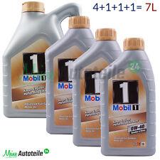 7 litros móvil 1 0W-40 nueva vida sucesor aceite de motor 4 L + 1 L + 1 L + 1 L = 7 L