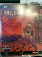 Megadeth Peace Sells... but who's Buying? DVD Audio thrash metal Metallica