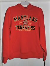 Maryland Terrapins Men's Jansport Hooded Sweatshirt-Red-Size X-Large NWT